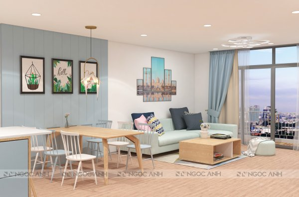 APARTMENT DESIGN AND CONSTRUCTION 100M2