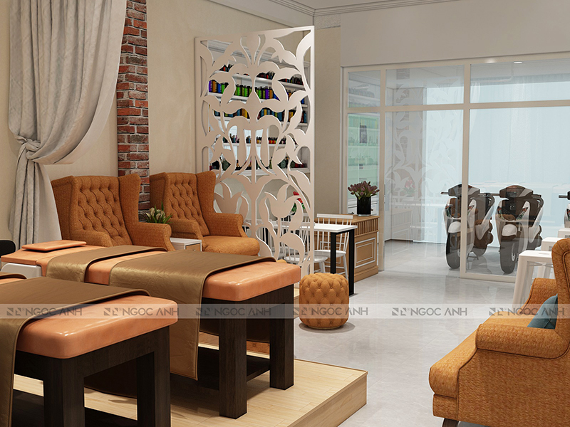 Spa Interior Design And Construction - Modern Spa Model