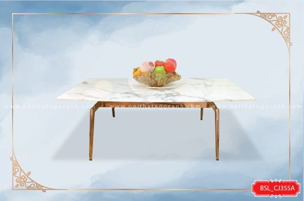 MODERN STONE FACES SALON TABLE BSL_CJ355A
