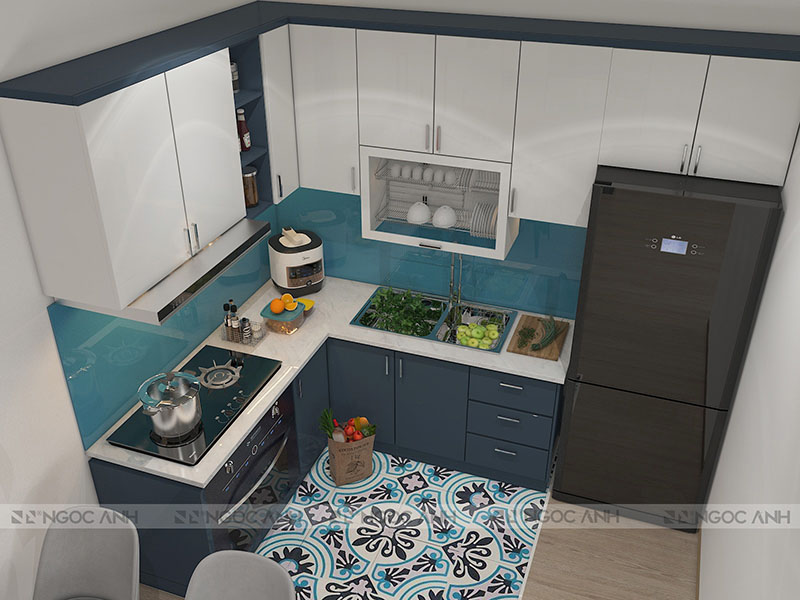 SIMPLE KITCHEN AND COLOR