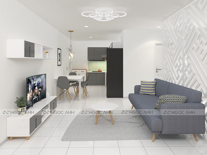 APARTMENT DESIGN OF 85M2 APARTMENT