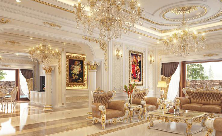 EXPERIENCE TAN CLASSICAL INTERIOR DECORATION